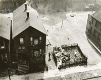 group of three images of chicago by gordon h. coster