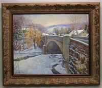 bridge over tohickon ii by tatiana alexeeva
