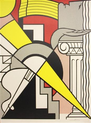 stedelijk museum poster by roy lichtenstein