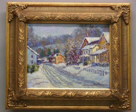kintnersville in winter by tatiana alexeeva