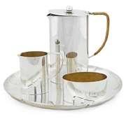 a coffee set (set of 4) by allan adler