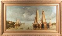 harbor scene by jean laurent