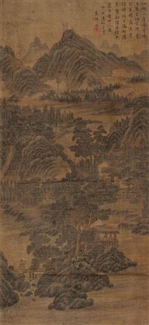 landscape by zhou chen