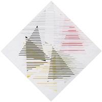 linear ineinandergeschobene dreiecke by arend fuhrmann