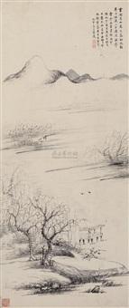landscape by cai yuan