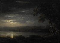 landskap i månbelysning by carl johan fahlcrantz