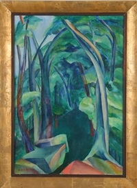 abstracted forest by helen young