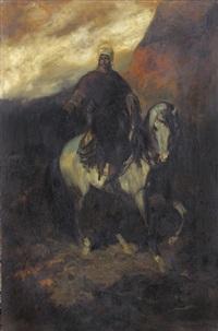 orientale zu pferd by otto von faber du faur