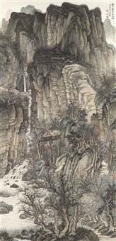 landscape by liu yanshui