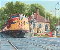 95th and wood - rock island e-8 by tony fachet
