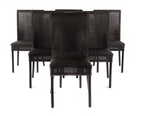 loom stühle (set of 6) by lloyd loom furniture