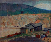 mining village by robert b. atwood
