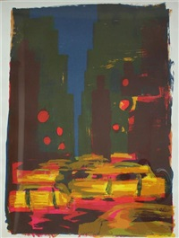 new york taxi by rainer fetting