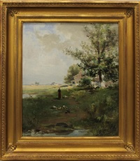 country landscape by frank f. english