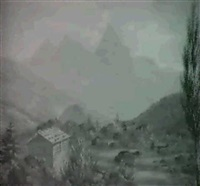 der mythen u: der bergschut bey goldau by david kolliker