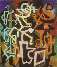abstract, c.1942 by irving g. lehman