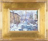 winter in carversville by tatiana alexeeva