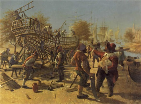 the ship builders by victor goulard