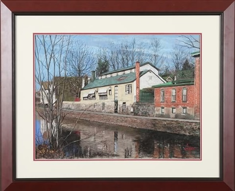 raritan canal lambertville nj by tom linker