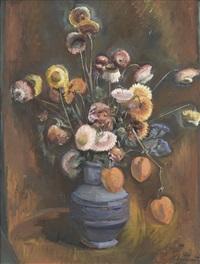 stillleben mit trockenblumen by eugen ammann