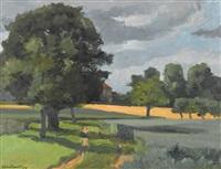 champs de blé by francis andruet