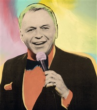 vegas crooner by steve kaufman
