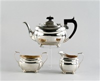teeservice (set of 3) by s. blanckensee & son