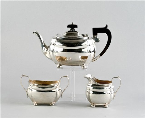 teeservice set of 3 by s blanckensee son