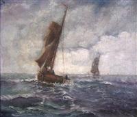 fischer der nordsee by hans wacker-elsen