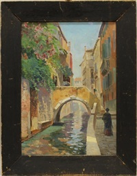 venetian canal by lillian amy montague