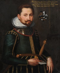 portrait eines edelmannes by francesco (zucchi) zucco