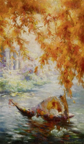 le temple damour by gaston la touche