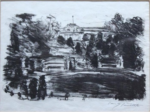 sanssouci by lovis corinth