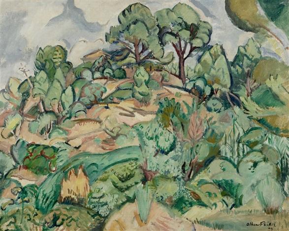 paysage by achille emile othon friesz