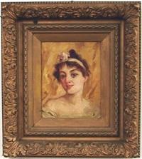 portrait of a woman by robert benvenuti