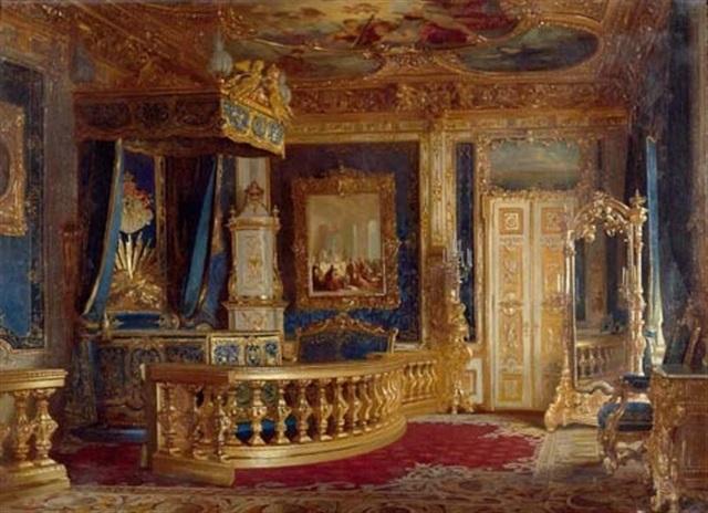 Schlafzimmer München schlafzimmer ludwig ii in der münchner residenz by pancraz koerle
