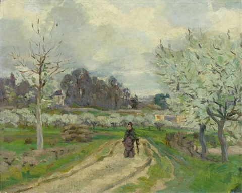 paysage ile de france by armand guillaumin