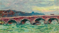 un pont à paris by albert marquet