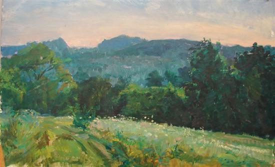 mountain landscape by louis b sloan