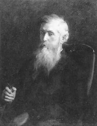 portrait of john muir by marion boyd allen