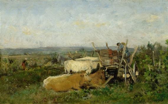 vendanges en bourgogne by charles françois daubigny