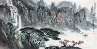 雪消门外千山绿 by liu baochun