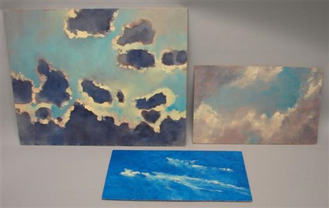 cloud study 2 others 3 works by louis b sloan