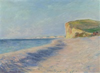 pourville près dieppe by claude monet