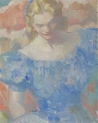 joyce (study) by violet oakley