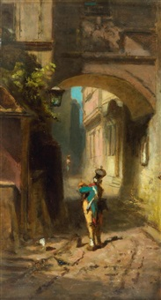 the watch by carl spitzweg