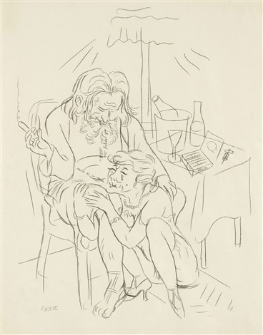 ick vazeih dia allet mir is so mies by george grosz