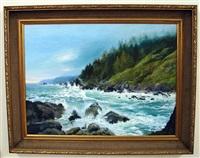 rocky coast, oregon by tatiana alexeeva