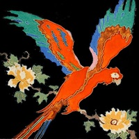 parrot tile by claycraft potteries