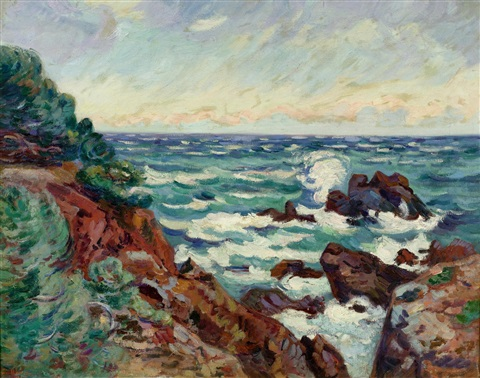 pointe de la baumette by armand guillaumin